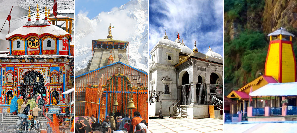 Chardham Tour Package Start from Delhi