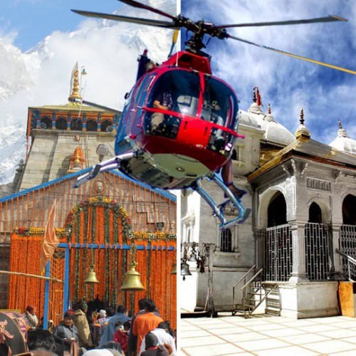 6 days Char Dham Yatra Helicopter Package ex Dehradun